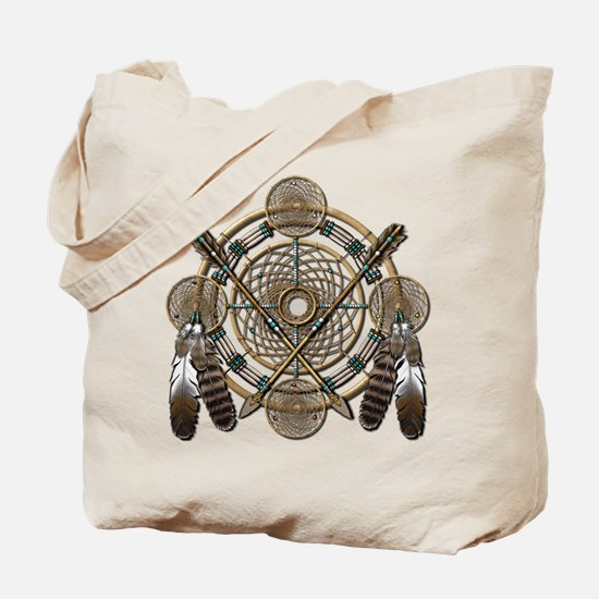 Dreamcatcher Medicine Wheel Tote Bag