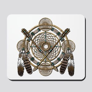 Dreamcatcher Medicine Wheel Mousepad