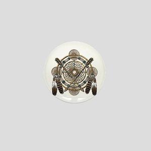 Dreamcatcher Medicine Wheel Mini Button