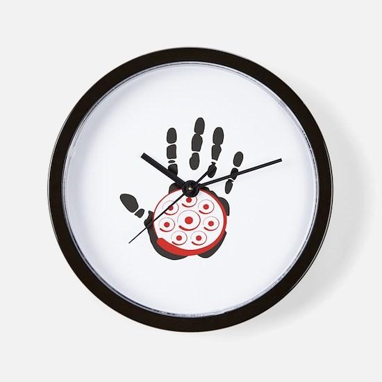 HandPan Wall Clock