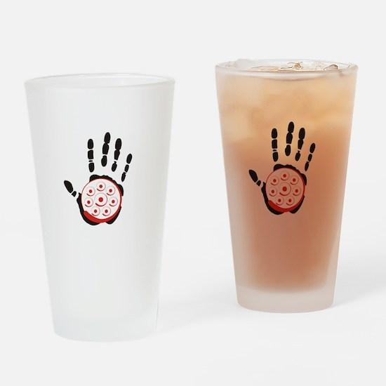 HandPan Drinking Glass