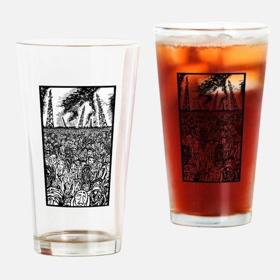 evolve or dissolve Drinking Glass