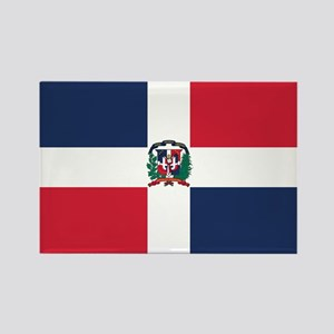 Dominican Rep. Rectangle Magnet