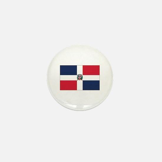 Dominican Rep. Mini Button