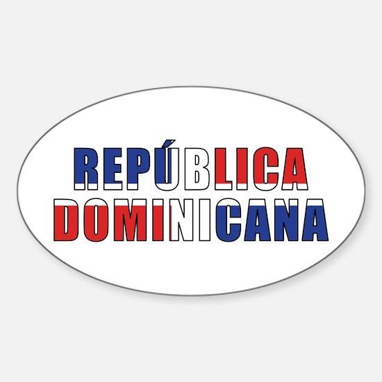 Dominican Sticker (Oval)