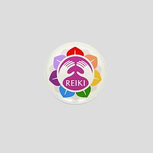 Lotus Reiki Mini Button