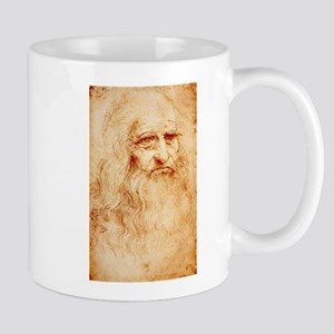 Self protrait of Leonardo Da Mug