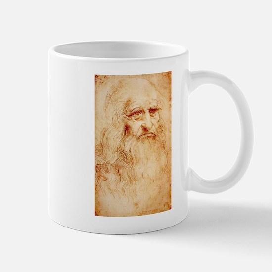 Self protrait of Leonardo Da Mug