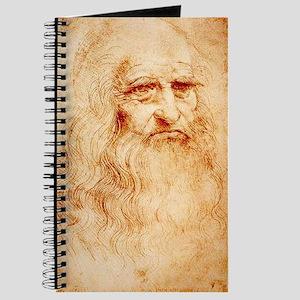 Self protrait of Leonardo Da Journal