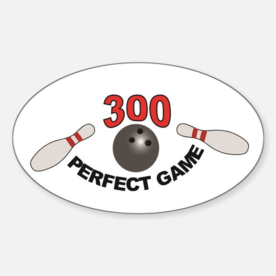 pins gone perfect game 300 Decal