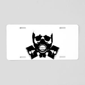 Art of War Aluminum License Plate