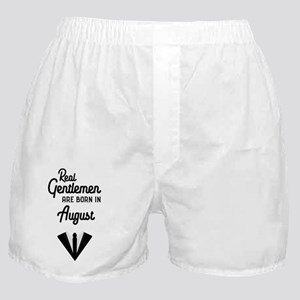 Real Gentlemen are born in August Ce6 Boxer Shorts