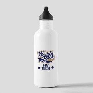 AV Tech Gift (Worlds Best) Stainless Water Bottle