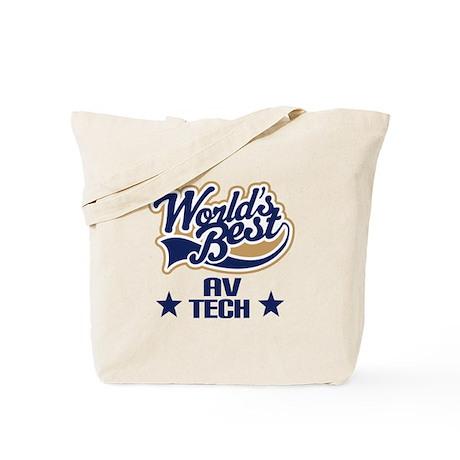 AV Tech Gift (Worlds Best) Tote Bag