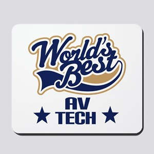 AV Tech Gift (Worlds Best) Mousepad
