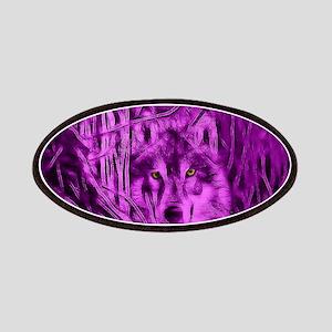 Pink Night Warrior Wolf Patches