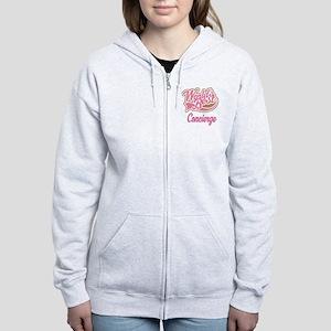 Concierge Gift (Worlds Best) Women's Zip Hoodie