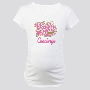 Concierge Gift (Worlds Best) Maternity T-Shirt