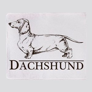 Dachshund Breed Type Throw Blanket