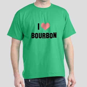 I heart Bourbon Dark T-Shirt