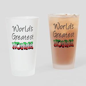 World's Greatest Nonna Drinking Glass