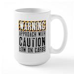 Warning - low on carbs Large Mug
