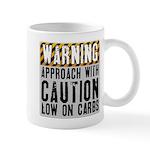 Warning - low on carbs Mug