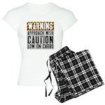 Warning - low on carbs Women's Light Pajamas