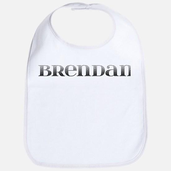 Brendan Carved Metal Bib