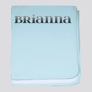 Brianna Carved Metal baby blanket