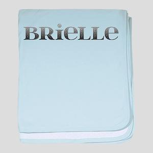 Brielle Carved Metal baby blanket