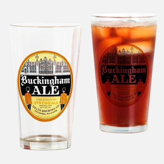 Michigan Beer Label 4 Drinking Glass