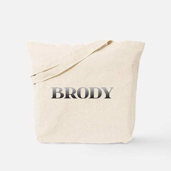 Brody Carved Metal Tote Bag