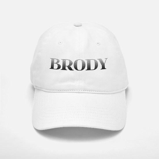 Brody Carved Metal Baseball Baseball Cap