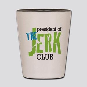 The Jerk Club Shot Glass