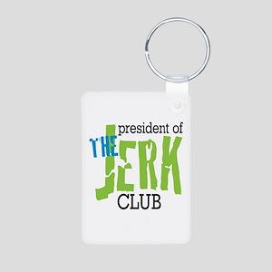 The Jerk Club Aluminum Photo Keychain