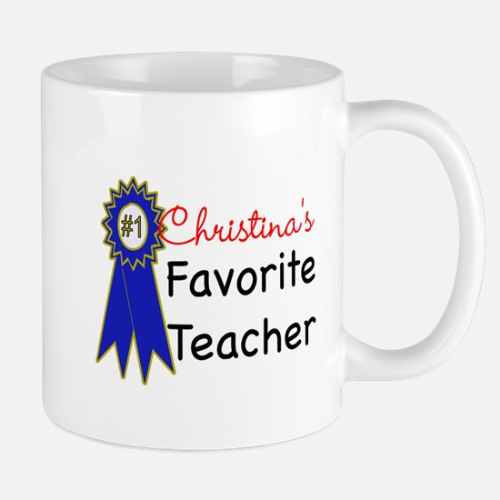 Favorite Teacher Mug