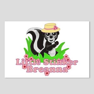 Little Stinker Breanna Postcards (Package of 8)