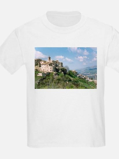 Roccacaramanico Italy Kids T-Shirt