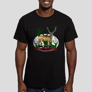 Bow Hunter 3 Men's Fitted T-Shirt (dark)