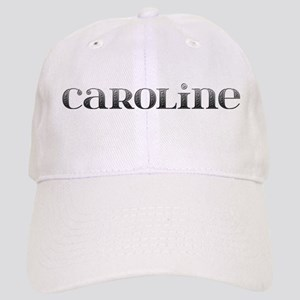 Caroline Carved Metal Cap