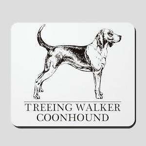 Treeing Walker Coonhound Mousepad