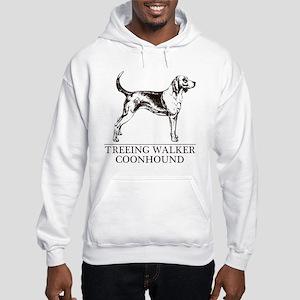 Treeing Walker Coonhound Hooded Sweatshirt