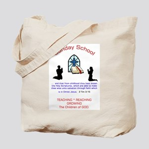 Sunday School Tote Bag