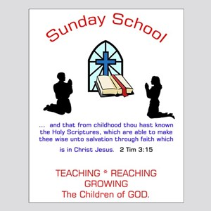 Sunday School Small Poster