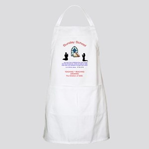 Sunday School BBQ Apron