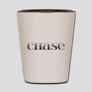 Chase Carved Metal Shot Glass