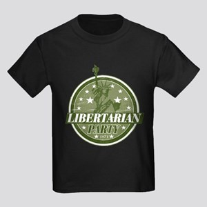 Libertarian Party Kids Dark T-Shirt