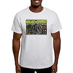 Ninjas vs. Zombies Light T-Shirt
