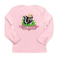Little Stinker Christie Long Sleeve Infant T-Shirt